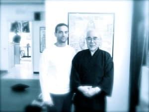 Sensei Hyakuten Inamoto con M° Graziano Scarascia