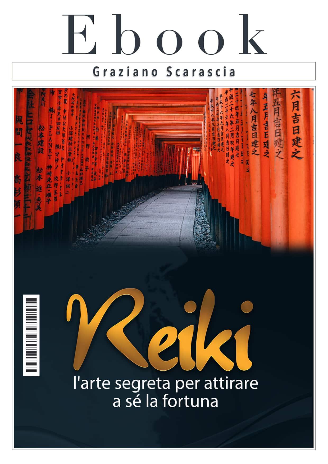offerta lancio del libro reiki l'arte di attirare a sè la fortuna