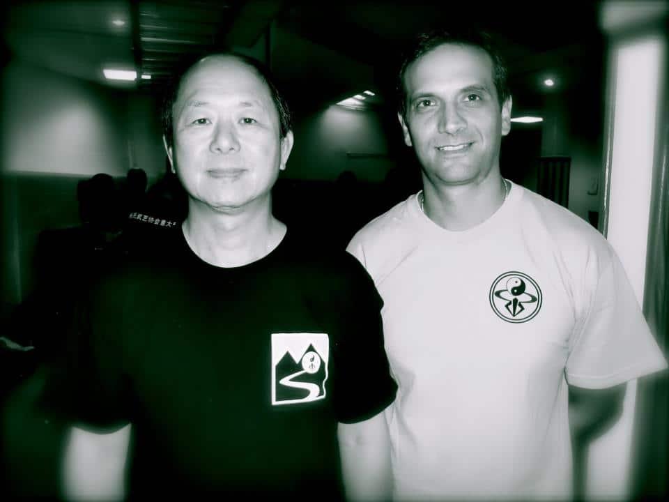 Tai Chi Graziano Scarascia con M° Yang Ywing Ming