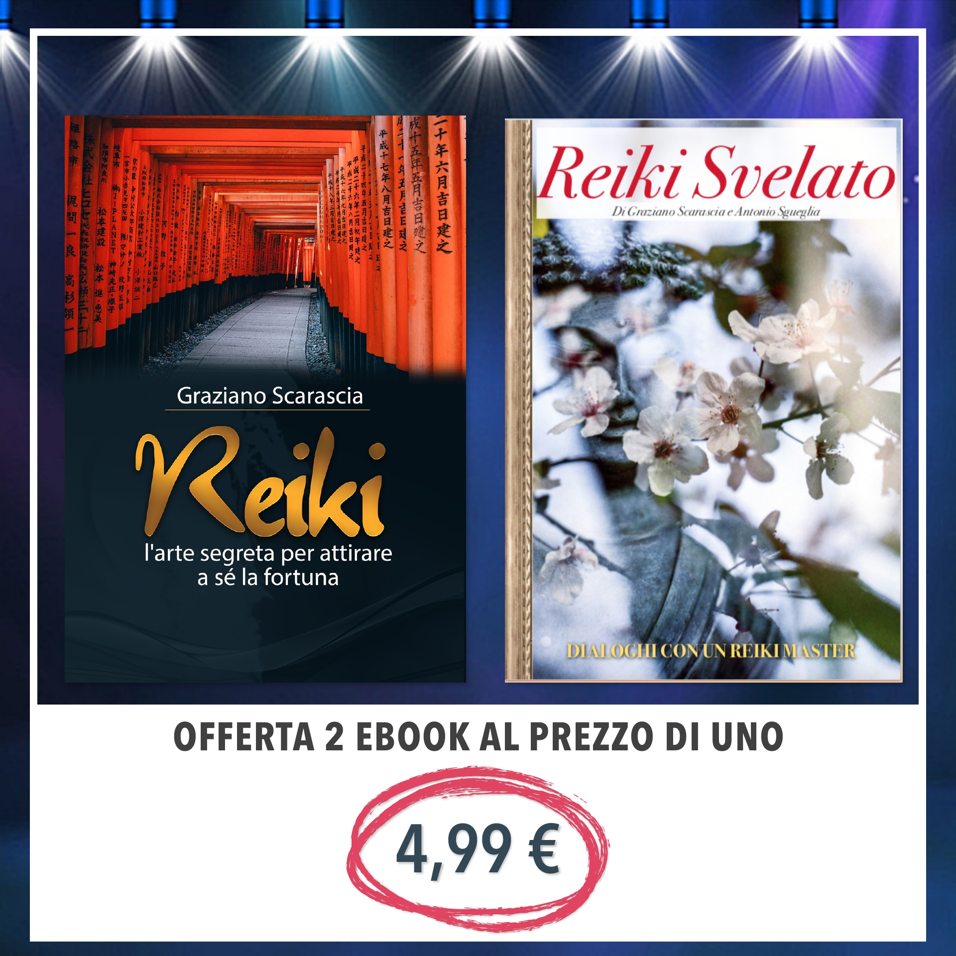 nuovo libro Reiki l'arte di attirare a sè la fortuna