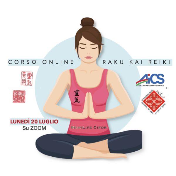 Corso Raku Kai Reiki 1 livello online