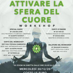 Workshop attivare la sfera del cuore