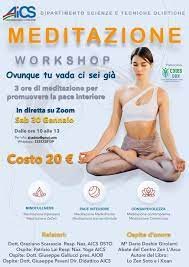 Workshop Meditazione Mindfullness